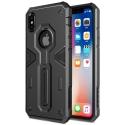 NILLKDEFENDIPXNOIR - Coque iPhone X Nillkin Defender ultra robuste noire