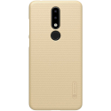 NILLKFR-NOK51PLUSGOLD - Coque robuste Nillkin Frosted pour Nokia 5.1 Plus texturée gold