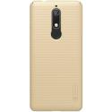 NILLKFROSTNOKIA51GOLD - Coque robuste Nillkin Frosted pour Nokia 5.1 texturée gold