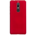 NILLKFROSTNOKIA51ROUGE - Coque robuste Nillkin Frosted pour Nokia 5.1 texturée rouge