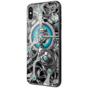 NILLKIN-SPACETIMEIPXS - Coque Nillkin SpaceTime iPhone X/XS dos en verre avec motif