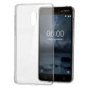 NOKIA-CC101 - Coque souple Nokia 6 en gel siliconé transparent CC-101