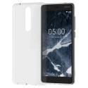 NOKIA-CC109 - Coque souple Nokia 5.1 en gel siliconé transparent CC-109