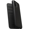 Etui Nomad Folio Rugged cuir noir iPhone 11