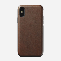 Coque Nomad Rugged cuir marron iPhone XS-AMX