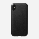 NOMAD-RUGGEDXSMAXNOIR - Coque iPhone Xs Max série Rugged en cuir noir de Nomad