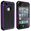 NZPOP-IP4-VIO - Coque Nzup POP violet pour iPhone 4 4S