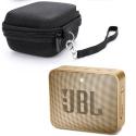 PACK-JBLGO2CHAMP - PACK Enceinte JBL Go-2 champagne + Housse de transport
