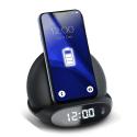 PADQI-L-AC-015 - Socle chargement sans fil induction avec affichage de l'heure