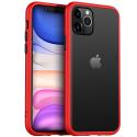PEACH-IP11PROROUGE - Coque souple iPhone 11 Pro Peach-Garden de Goospery coloris rouge