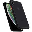 PEACH-IPXRNOIR - Coque souple iPhone XR Peach-Garden de Goospery coloris noir