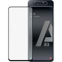 PEGLASSA80 - Verre protection écran 3D intégral Galaxy A80 contour noir