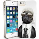 PETSRKIP5FASHIONKARL - Coque souple pour iPhone 5s motif chien Fashion Karl