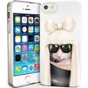 PETSRKIP5GAGA - Coque souple pour iPhone 5s motif chat Lady
