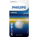 PHILIPS-CR2025 - Pile bouton Philips CR2025 au lithium 3V CR-2025