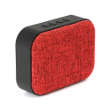 PLATINET-OG58R - Enceinte nomade bluetooth 3W + Radio FM coloris rouge