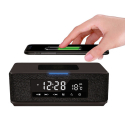 PLATINET - Radio-réveil avec socle chargement sans fil induction