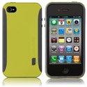 HPOP-IP4-VERT - Coque rigide Case-Mate POP pour iPhone 4 couleur Vert Gris