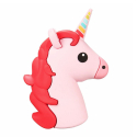 POWERBANK-LICORNE - Batterie PowerBank Licorne rose 8800 mAh