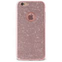 PURO-SHINEROSEIP8 - Coque Shine Strass rose doré iPhone 6/6s/7/8