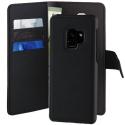 PUROFOLIOMAGS9PB - Etui 2 en 1 avec Coque détachable Galaxy S9+ de Puro coloris noir