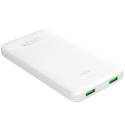 PUROPBFC10000W - Batterie PowerBank Puro de 10.000 mAh blanche