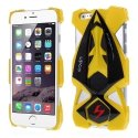 RACINGCARIP6JAUNE - Coque look Racing-Car jaune pour Apple iPhone 6 de 4,7 pouces