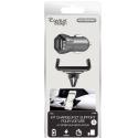 RAVEN-WINDFRAMECAC - Pack RAVEN chargeur allume cigare 2 prises USB et support ventilaion