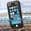 REDPEPPER-IP5SNOIR - Coque boitier étanche et antichoc iPhone SE/5s Redpepper Waterproof