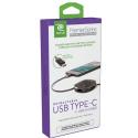 RETRAK-ETPRUC - Câble rétractable USB-C mètre coloris noir
