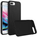 RHINO-SOLIDIP8PLUSBROSSE - Coque RhinoShield pour iPhone 7/8 Plus coloris noir aspect métal brosé