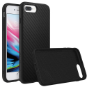 RHINO-SOLIDIP8PLUSCARBO - Coque RhinoShield pour iPhone 7/8 Plus coloris noir aspect carbone
