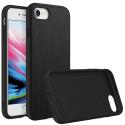 RHINO-SOLIDSUITEIP8BROSSE - Coque RhinoShield pour iPhone 7/8 coloris noir aspect métal brossé