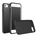 RHINO-SOLIDSUITIP8CARBO - Coque RhinoShield pour iPhone 7/8 coloris noir textue carbone