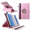 ROTADJUST210ROSE - Etui universel et ajustable pour tablette de 9 a 10 pouces rose