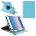 ROTADJUST210TURQ - Etui universel et ajustable pour tablette de 9 a 10 pouces turquoise