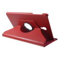 ROTATE-T590ROUGE - Etui rotatif Galaxy Tab-A 10.5 (2018) fonction stand coloris rouge