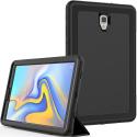 RUBBERSTAND-T590 - Protection renforcée Galaxy Tab-A 10.5 (2018) avec rabat écran