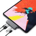 SATECHI-ST-TCMPHM - Satechi Adaptateur USB HDMI et Jack pour iPad Pro 2018 Space Grey