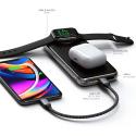 SATECHI-ST-UC10WPBM - batterie externe Satechi pour Apple iPhone et Apple Watch toutes versions