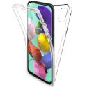 SKIN360-GALAXYA51 - Coque Galaxy A51 protection intégrale transparente avant arrière 360°