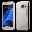 SLINE-S7TRANS - Coque souple Galaxy S7 motif S-Line transparent