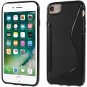 SLINECARBO-IP678 - Coque souple iPhone 6/7/8 motif S-Line look carbone