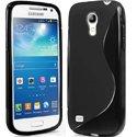 SLINENOIRS4MINI - Coque Housse S-Line noire Galaxy S4 Mini