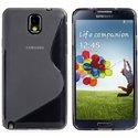 SLINENOTE3NOIR - Coque Housse S-Line Samsung galaxy Note 3 coloris Noir