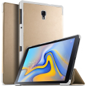SMART-T590GOLD - Protection avec rabat smart Galaxy Tab-A 10.5 (2018) gold