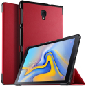 SMART-T590ROUGE - Protection avec rabat smart Galaxy Tab-A 10.5 (2018) rouge