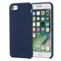 SMOOTH-IP7BLEU - Coque souple silicone iPhone 7/8 coloris bleu