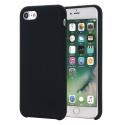 SMOOTH-IP7NOIR - Coque souple silicone iPhone 7/8 coloris noir mat