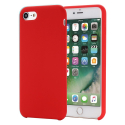 SMOOTH-IP7ROUGE - Coque souple silicone iPhone 7/8 coloris rouge